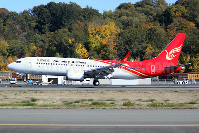 First MAX 8 for Kunming Airlines