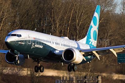 "Named ""Spirit of Renton"", first flight on January 29, 2016"