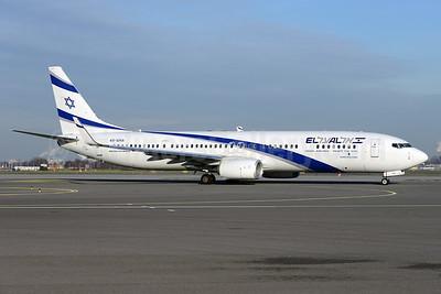 El Al Israel Airlines Boeing 737-958 ER WL 4X-EHA (msn 41552) AMS (Ton Jochems). Image: 925405.