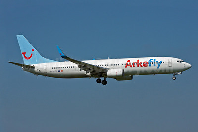 Arkefly (TUI Airlines Nederland) (Futura International Airways) Boeing 737-96N ER WL EC-KQR (msn 32559) AMS (Arnd Wolf). Image: 907973.