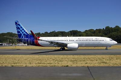 Sriwijaya Air's new Boeing 737-900 ER