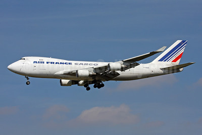Air France Cargo Boeing 747-428 ERF F-GUIA (msn 32866) GRU (Marcelo F. De Biasi). Image: 900407.