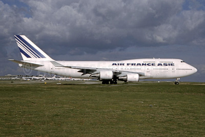 Air France Asie (Air France) Boeing 747-428 F-GISA (msn 25238) CDG (Bruce Drum Collection). Image: 944840.