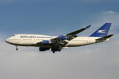 Aerolineas Argentinas Boeing 747-475 LV-AXF (msn 24895) GRU (Marcelo F. De Biasi). Image: 900199.