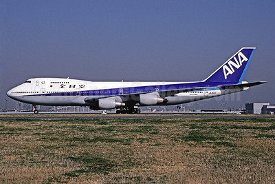 ANA (All Nippon Airways) Boeing 747SR-81 JA8145 (msn 22291) HND (Michael B. Ing). Image: 912565.