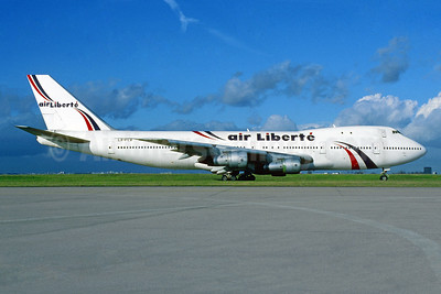 Leased from Cargolux on June 15, 1990