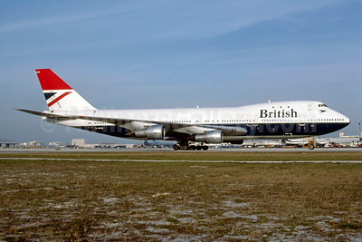 British Airways Boeing 747-136 G-AWNI (msn 20271) MIA (Bruce Drum). Image: 102982.