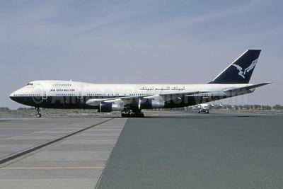 Air Gulf Falcon Boeing 747-136 3D-GFA (msn 19763) (British Airways basic livery) SHJ (Bernhard Ross). Image: 944801.