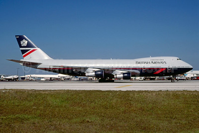 British Airways Boeing 747-136 G-AWNF (msn 19766) MIA (Keith Armes). Image: 912996.