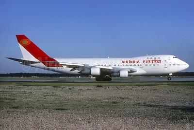 Air India Boeing 747-237B VT-EDU (msn 21182) FRA (Christian Volpati). Image: 938007.