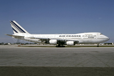 Air France Cargo Asie (Air France) Boeing 747-228B (F) F-GCBH (msn 23611) MIA (Bruce Drum). Image: 104870.