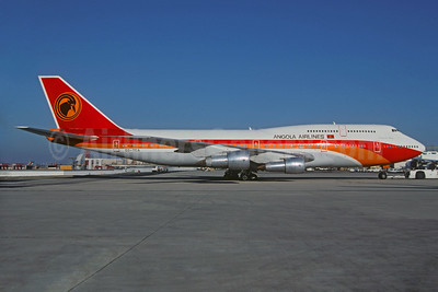 Angola Airlines (TAAG Linhas Aereas de Angola) Boeing 747-312 D2-TEA (msn 23410) CDG (Christian Volpati). Image: 930664.