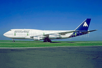 Aeromaritime (2nd) Boeing 747-3B3 F-GETB (msn 23480) ORY (Jacques Guillem). Image: 952598.