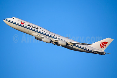 Air China's first Boeing 747-800, now flying to New York (JFK)