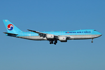 Korean Air Cargo Boeing 747-8HTF HL7617 (msn 37654) ANC (Michael B. Ing). Image: 921684.