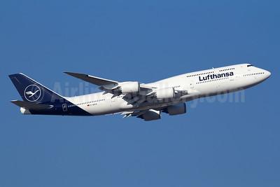 Lufthansa Boeing 747-830 D-ABYA (msn 37827) FRA (Marcelo F. De Bisi). Image: 940915.