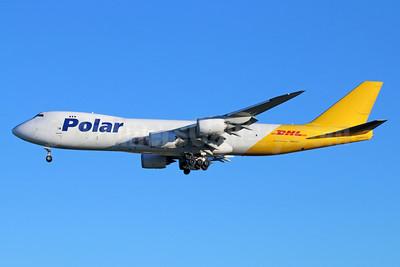 DHL-Polar Air Cargo Boeing 747-87UF N853GT (msn 37572) LAX (Michael B. Ing). Image: 931605.