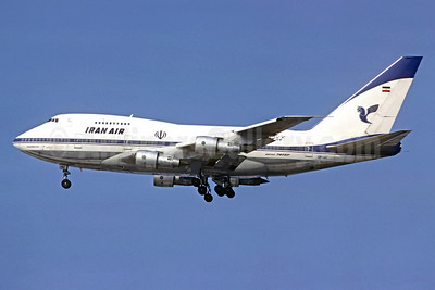 Iran Air Boeing 747SP-86 EP-IAC (msn 21093) ORY (Christian Volpati Collection). Image: 912924.