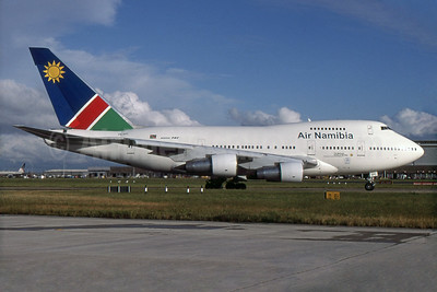 Air Namibia (South African Airways) Boeing 747SP-44 ZS-SPC (msn 21134) LHR (SPA). Image: 931036.