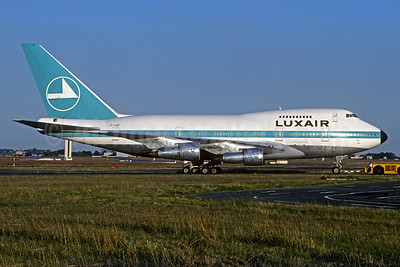 Luxair (Luxembourg Airlines) Boeing 747SP-44 LX-LGX (msn 21133) JNB (Jacques Guillem Collection). Image: 932057.