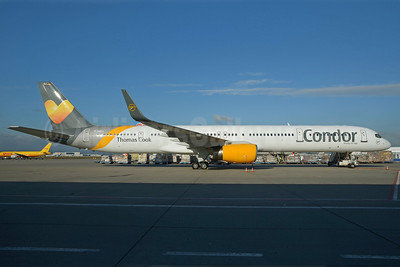 Condor Flugdienst-Thomas Cook Boeing 757-330 WL D-ABOJ (msn 29019) FRA (Bernhard Ross). Image: 921252.
