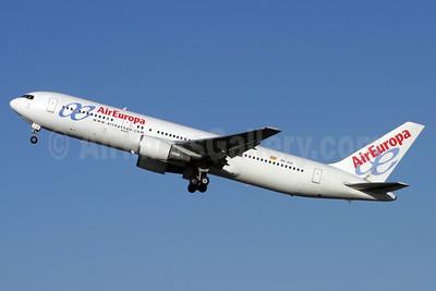 AirEuropa Boeing 767-328 ER EC-JJJ (msn 27428) LGW (Antony J. Best). Image: 906132.