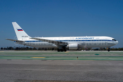 Aeroflot Russian International Airlines Boeing 767-36N ER VP-BAV (msn 30107) LAX (Roy Lock). Image: 913948.