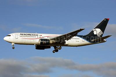 AeroMexico Boeing 767-25D ER XA-EAP (msn 24734) LHR (Terry Wade). Image: 910902.