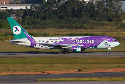 AeroSur (Bolivia) Boeing 767-284 ER CP-2659 (msn 24742) (Sharko) GRU (Marcelo F. De Biasi). Image: 906564.