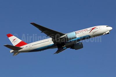 Austrian Airlines Boeing 777-2Z9 ER OE-LPC (msn 29313) NRT (Michael B. Ing). Image: 908426.