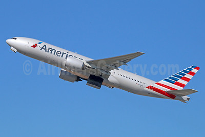 American Airlines Boeing 777-223 ER N750AN (msn 30259) LAX (Michael B. Ing). Image: 920987.