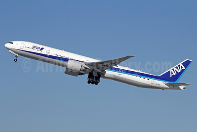 ANA (All Nippon Airways) Boeing 777-381 ER JA736A (msn 34893) LAX (Michael B. Ing). Image: 912568.