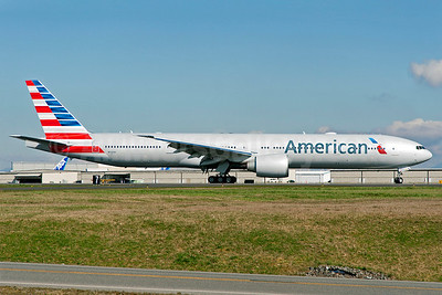 American Airlines Boeing 777-323 ER N721AN (msn 31546) PAE (Royal S. King). Image: 911996.