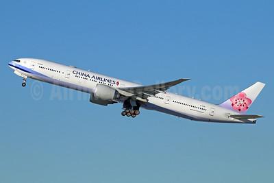 China Airlines Boeing 777-36N ER B-18051 (msn 41821) LAX (Michael B. Ing). Image: 925413.