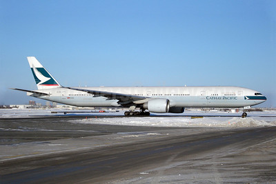 Cathay Pacific Airways Boeing 777-367 ER B-KPC (msn 34432) YYZ (TMK Photography). Image: 900631.