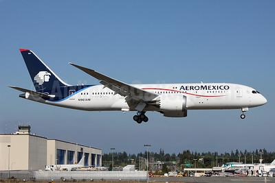 AeroMexico Boeing 787-8 Dreamliner N961AM (msn 35306) PAE (Nick Dean). Image: 913062.