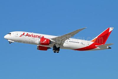 Avianca (Colombia) Boeing 787-8 Dreamliner N782AV (msn 37504) LAX (Michael B. Ing). Image: 931531.