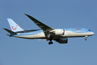 Arke's first Boeing 787 named #dreamcatcher