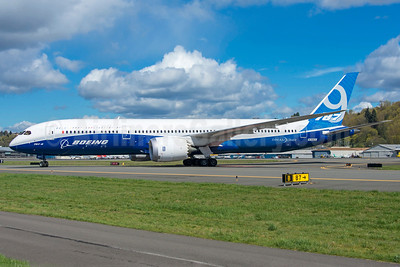Boeing 787-9 Dreamliner N789EX (msn 41988) BFI (Steve Bailey). Image: 922762.