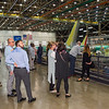 United Airlines Employee Recognition Events -  Renton 737 Factory Tours