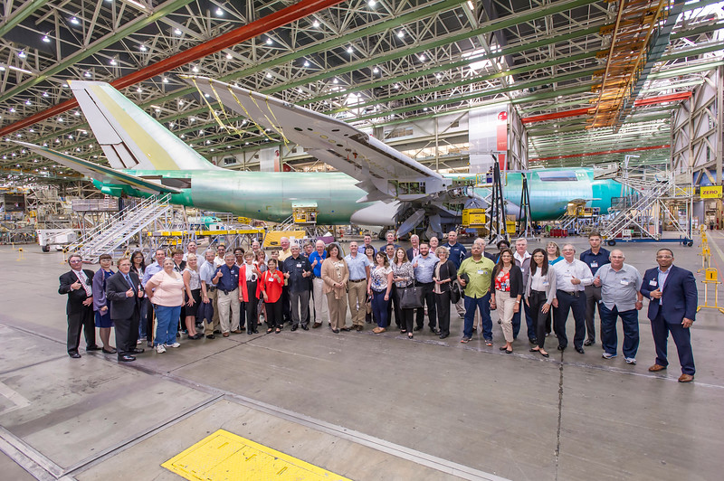 United Airlines Boeing-Everett Factory Tour