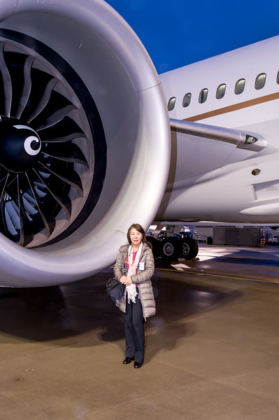 787 UAL Ribbon Cutting_Flyaway Photos