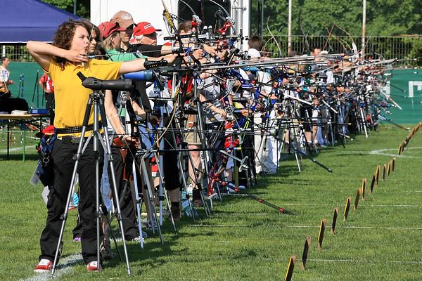 Sport Bogenschiessen 42.Goldener Bogen von Basel 2009