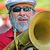 Horn player from the John Duke Band.