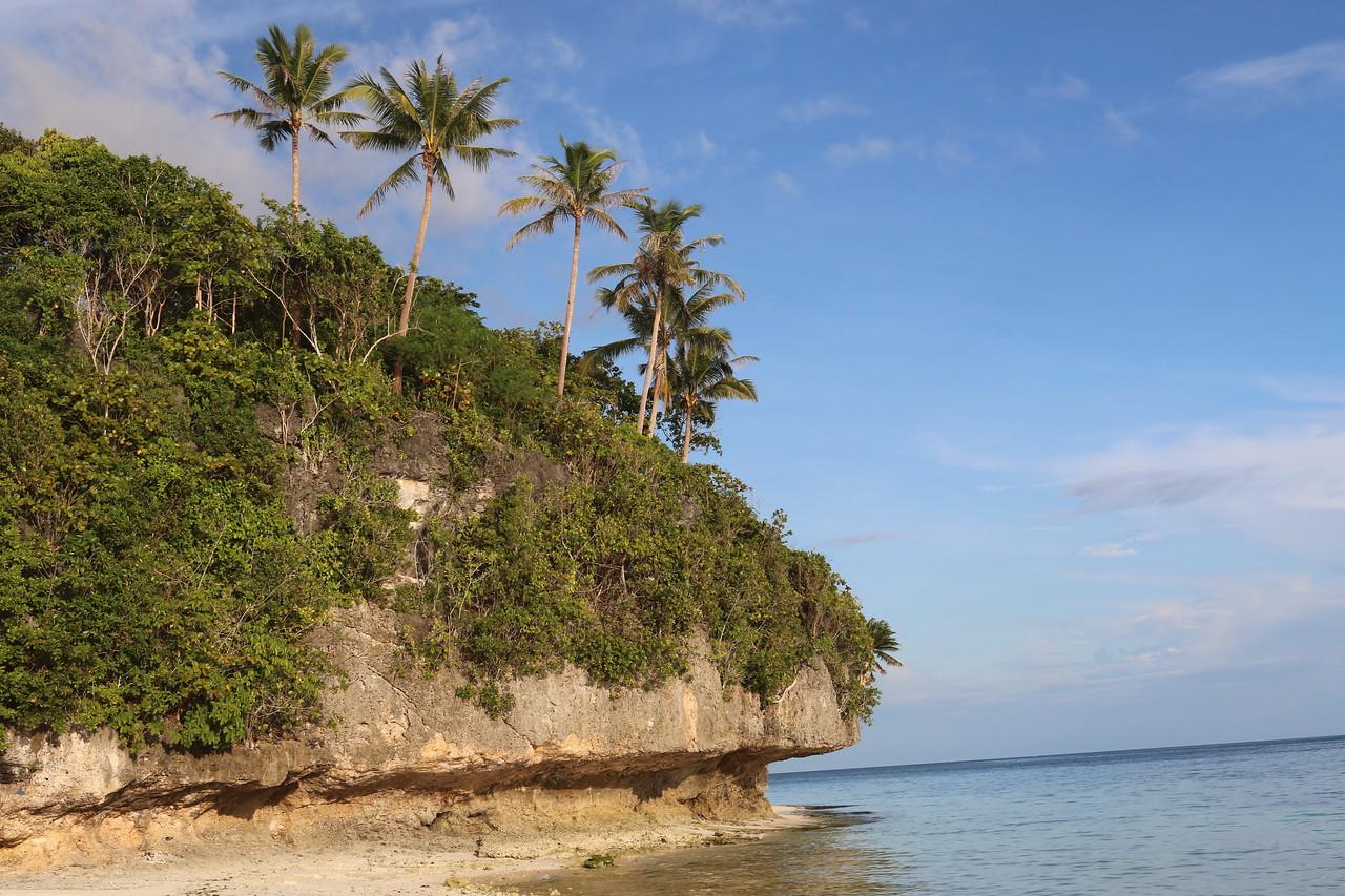 Amun Ini had its own cove and beach