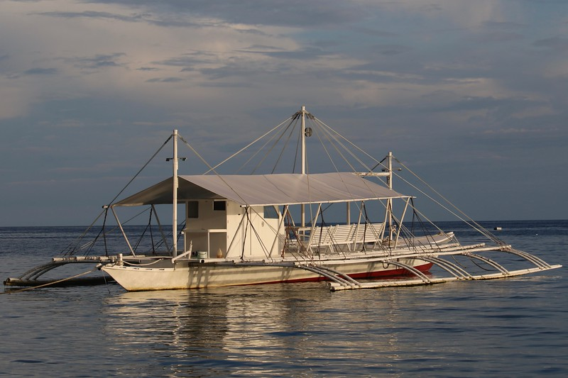 One of the  Amun Ini dive boats