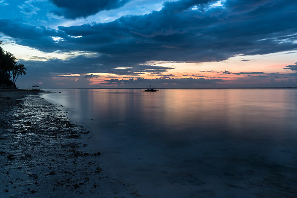 The Stillness of Predawn at Bohol in the Philippines