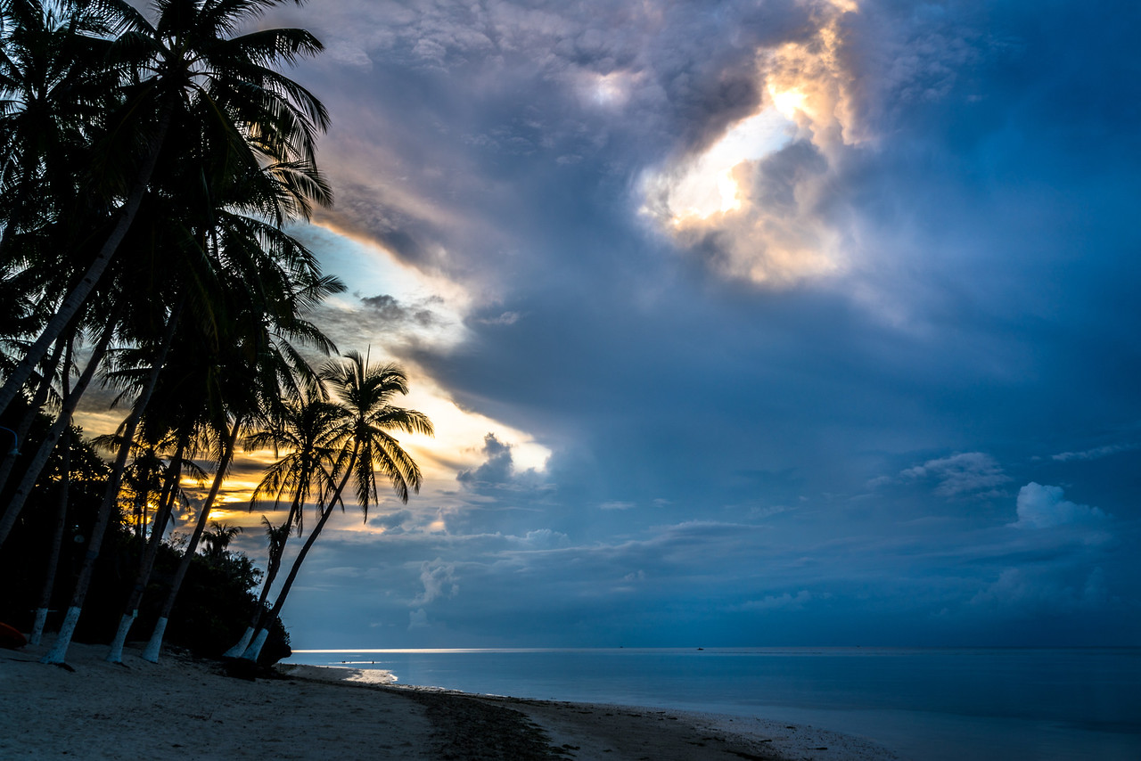 Sunrise at Bohol in the Philippines