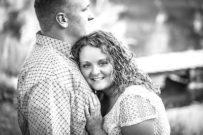 Carl and Lindsey E-Session-46b&w