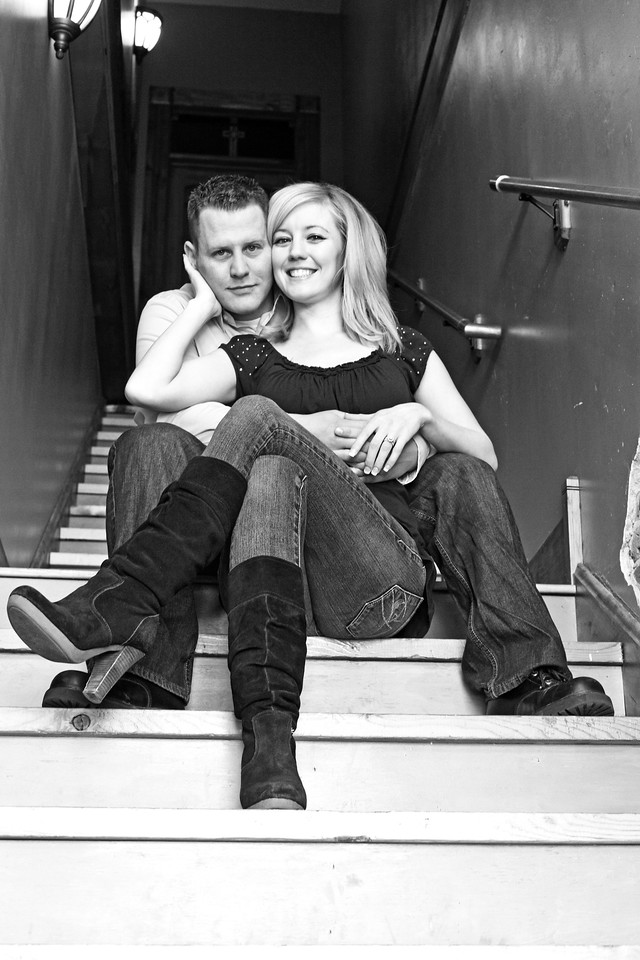 Evan and Kim E-Session-9b&w
